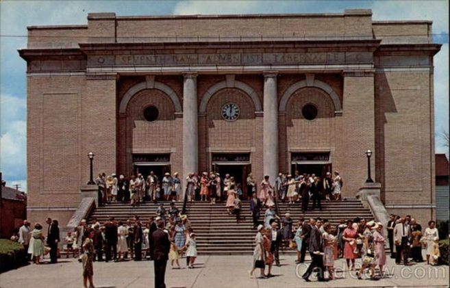 Battle Creek Tabernacle 1950's
